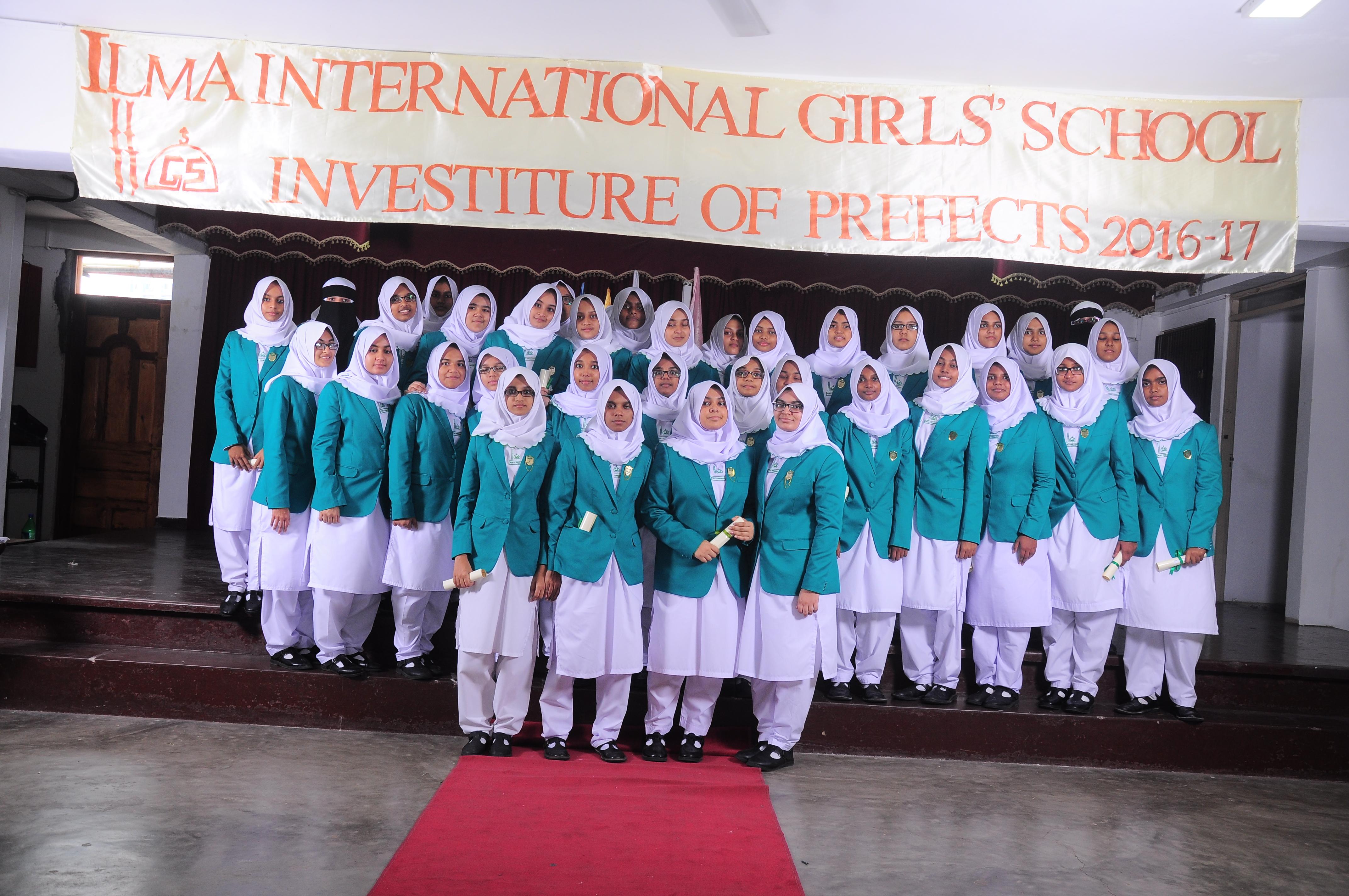 Investiture of Senior Prefects 2016/17 - Ilma International Girls ...